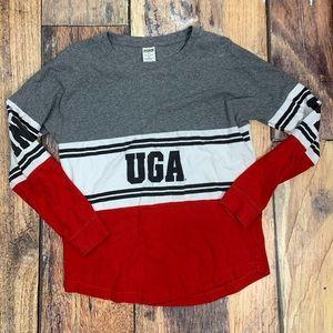 VS Pink UGA Top